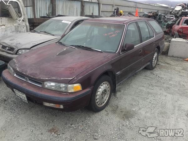 Row52 1991 Honda Accord Wagon At Pick N Pull Salinas 1hgcb9862ma016173