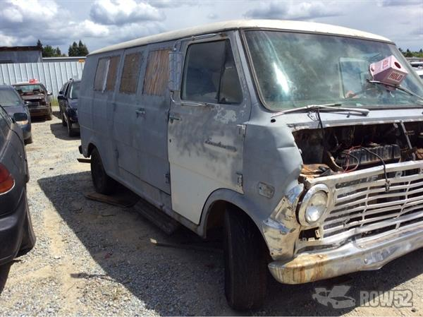 Row52   1969 Ford Econoline at PICK-n-PULL Redding ...