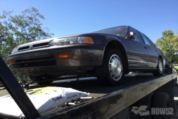 Row52 1993 Honda Accord At Pick N Pull San Jose North