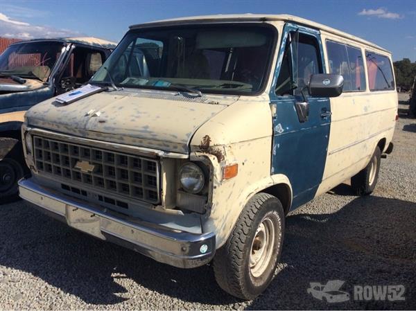 Row52 | 1980 Chevrolet Van at PICK-n-PULL Redding ...