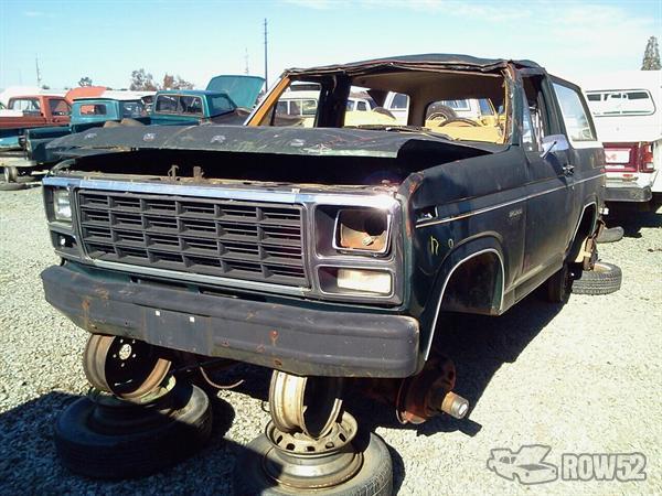 row52 1980 ford bronco at pick n pull rocklin u15elgg2669. Black Bedroom Furniture Sets. Home Design Ideas