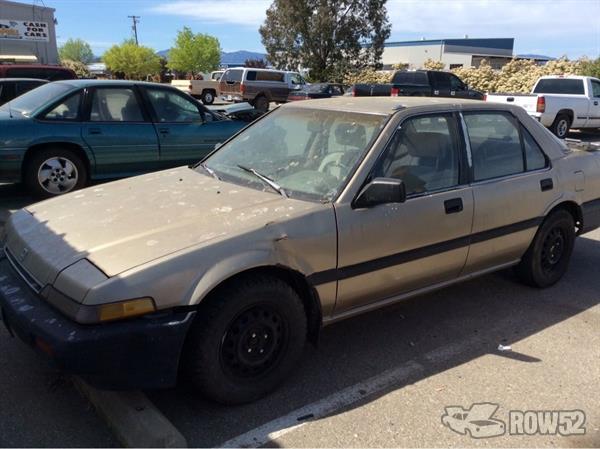 Row52 | 1987 Honda Accord at PICK-n-PULL Redding ...