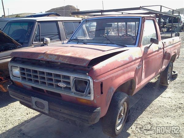 Row52 | 1984 Ford Ranger at PICK-n-PULL Carson City ...