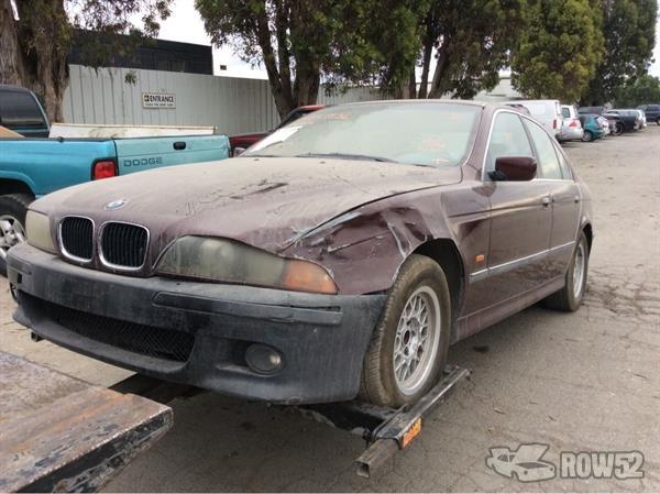 Pick N Pull Tacoma >> Row52 | 1997 BMW 5-Series at PICK-n-PULL Newark WBADD6324VBW02463