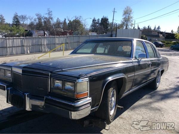 Row52 1986 Cadillac Fleetwood At Pick N Pull San Jose