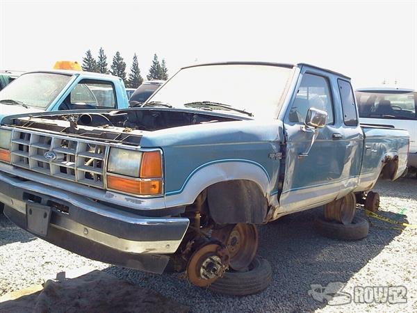 Pick N Pull Tacoma >> Row52 | 1990 Ford Ranger at PICK-n-PULL Rancho Cordova 1FTCR15TXLPA18450