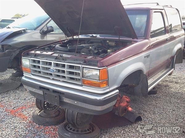 Pick N Pull Tacoma >> Row52 | 1989 Ford Bronco II at PICK-n-PULL Surrey (Domestic) 1FMBU14T6KUA18100