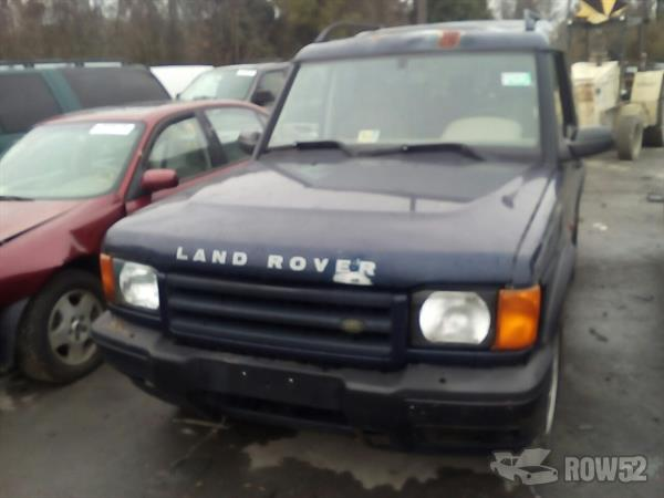Row52 2002 land rover discovery at foss u pull it for Cash n carry motors savannah ga