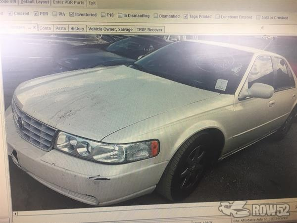 Row52 2002 cadillac seville at all pro auto parts inc 2002 cadillac seville sciox Images