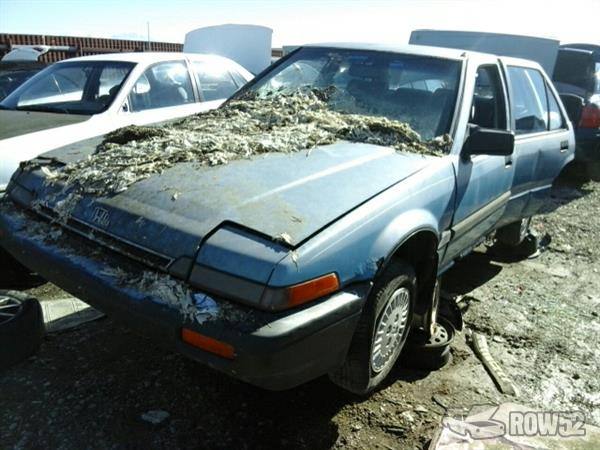 Pick N Pull Tacoma >> Row52 | 1986 Honda Accord at PULL-N-SAVE Salt Lake City JHMBA5424GC104531