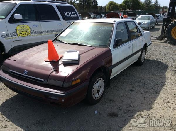 Row52   1989 Honda Accord at PICK-n-PULL Rancho Cordova ...