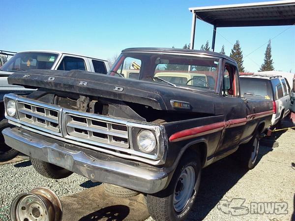 Row52 | 1968 Ford Truck (Pre-81) at PICK-n-PULL Rancho ...
