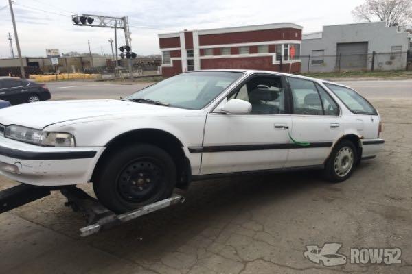 Row52 1991 Honda Accord Wagon At Pick N Pull Kansas City 12th St