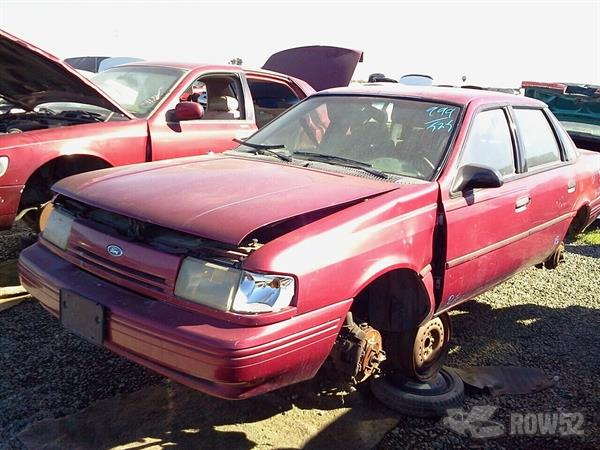Row52 1994 Ford Tempo At Pick N Pull Merced