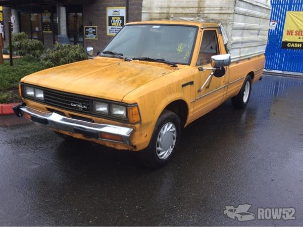 Row52   1980 Datsun Truck (Pre-81) at PICK-n-PULL ...
