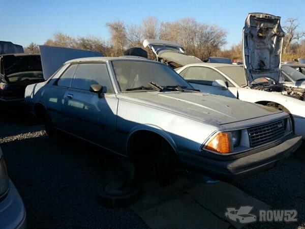 Row52 | 1981 Mazda 626 at PICK-n-PULL San Jose North ...