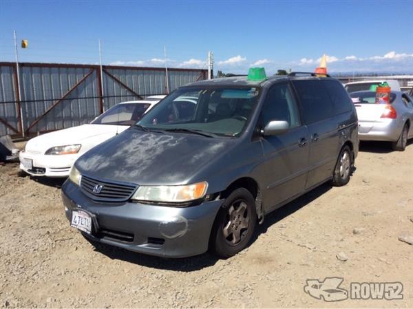 Row52 | 2001 Honda Odyssey at PICK-n-PULL Antelope ...
