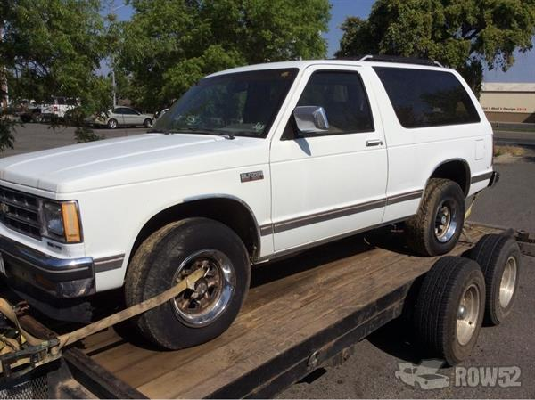 Row52 | 1987 Chevrolet S10 Blazer at PICK-n-PULL Chico ...