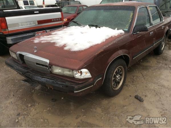 Row52 1992 buick century at pick n pull salt lake city for Muncie u pull