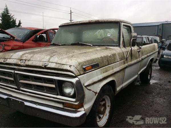 Row52   1971 Ford Truck (Pre-81) at PICK-n-PULL Sherwood ...