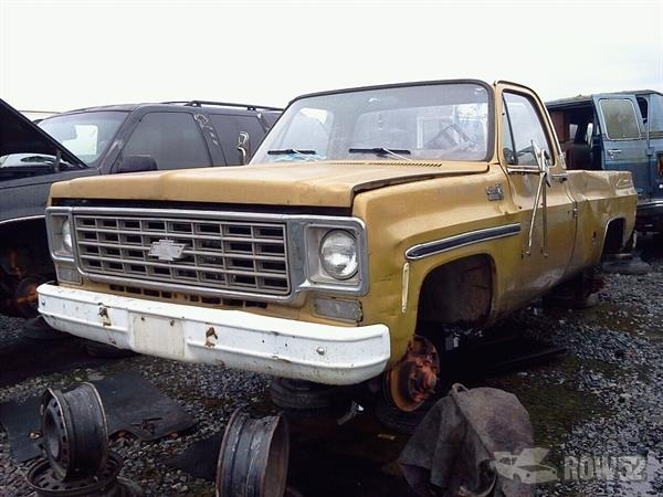 Row52   1976 Chevrolet Truck (Pre-81) at PICK-n-PULL ...