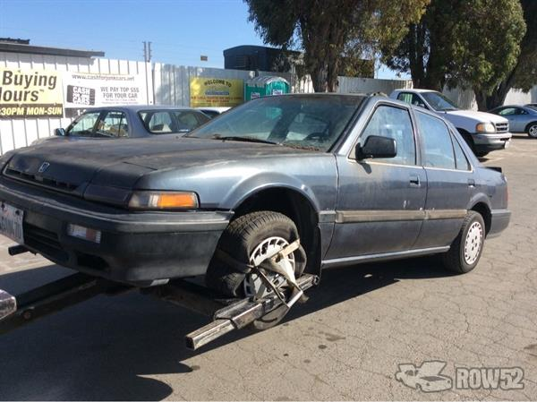 Pick N Pull Tacoma >> Row52 | 1988 Honda Accord at PICK-n-PULL Newark ...