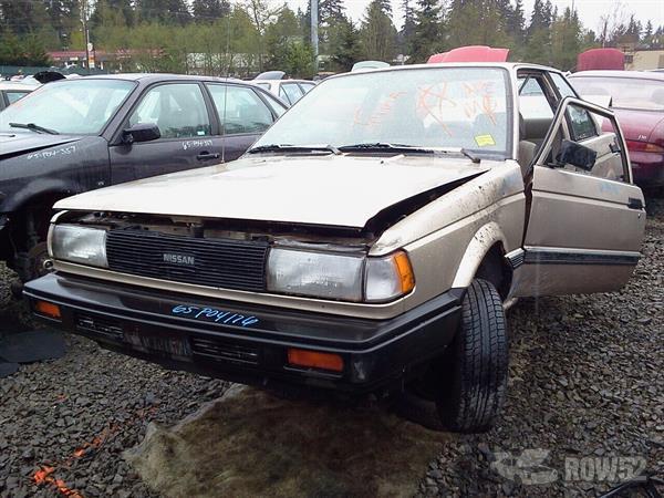 Row52 | 1990 Nissan Sentra at PICK-n-PULL Lynnwood ...