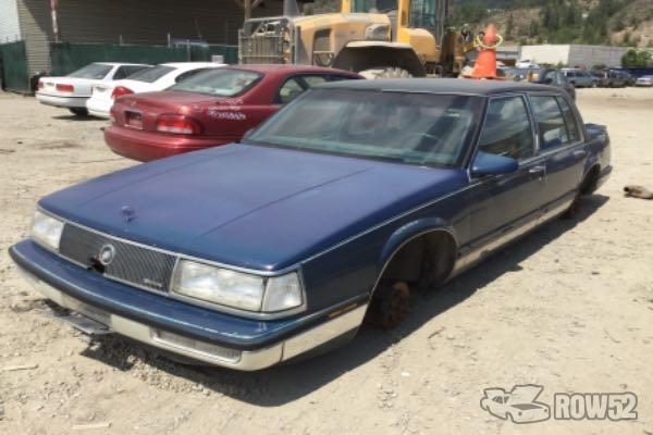 row52 1989 buick park avenue at pick n pull kelowna 1g4cw51c0k1677544