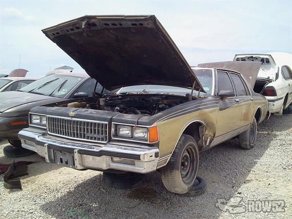 Row52 1986 Chevrolet Caprice Classic At Pick N Pull