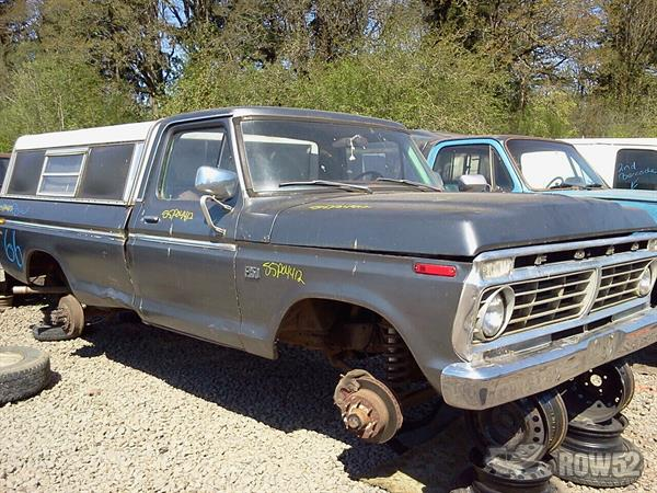 Row52 | 1973 Ford Truck (Pre-81) at PICK-n-PULL Sherwood ...