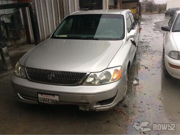 Row52 2002 toyota avalon at pick n pull rocklin for Cash n carry motors savannah ga