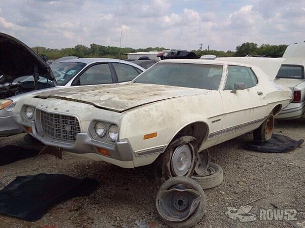 Pick N Pull Tacoma >> Row52 | 1972 Ford Torino at PICK-n-PULL Dallas South 2H30H225587