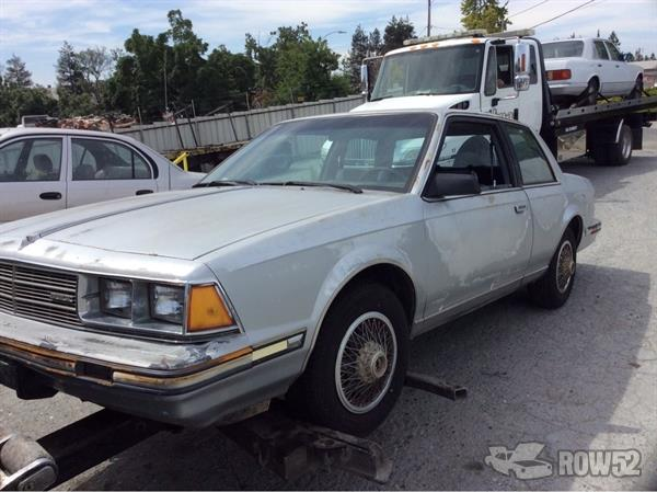 Pick N Pull Tacoma >> Row52 | 1982 Buick Century at PICK-n-PULL San Jose South 1G4AL27E6C6403499