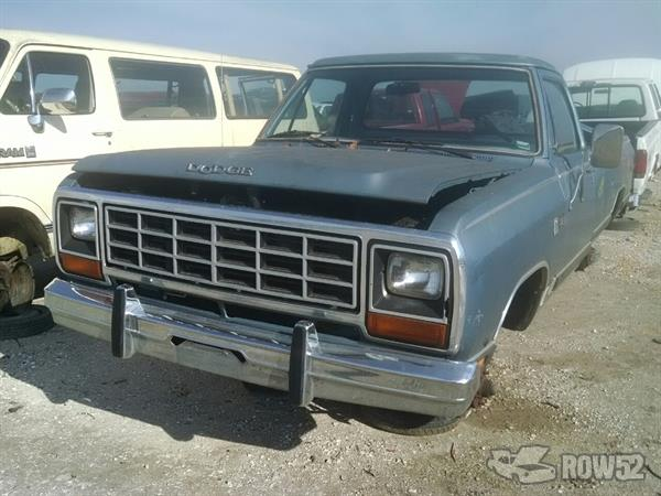 Pick N Pull Tacoma >> Row52 | 1985 Dodge D150 at PICK-n-PULL Springfield 1B7FD14T3FS565686
