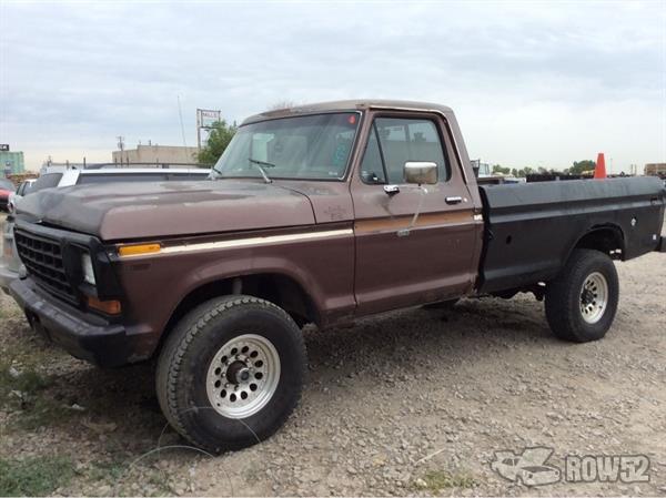 Row52 | 1978 Ford Truck (Pre-81) at PICK-n-PULL Salt Lake ...