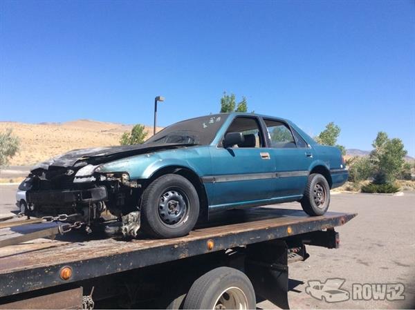 Row52 1987 Honda Accord At Pick N Pull Carson City