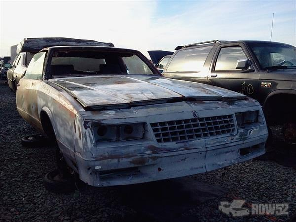 Row52 | 1985 Chevrolet Monte Carlo at PICK-n-PULL Tacoma