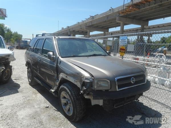 row52 2002 nissan pathfinder at midway u pull liberty jn8dr09x52w665925 row52