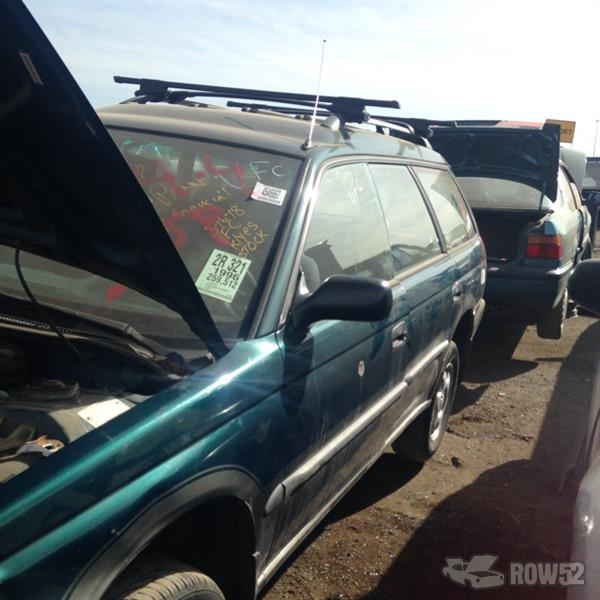 Row52 1996 Subaru Legacy Wagon At U Pull Pay Denver