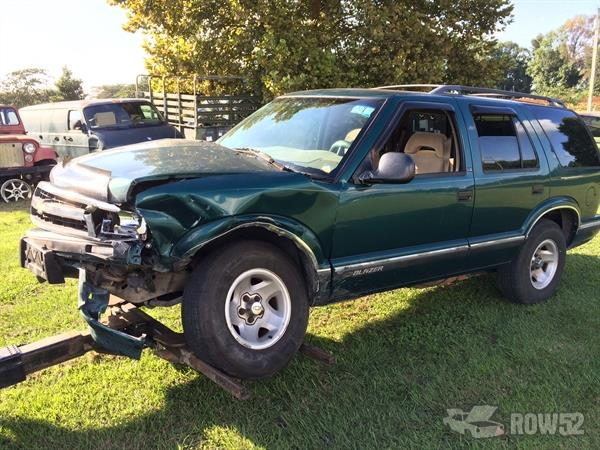 row52 1996 chevrolet blazer at jdm automotive recycling 1gncs13w9t2175912 row52 1996 chevrolet blazer at jdm