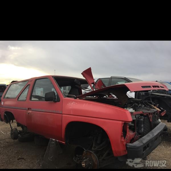 Row52 1988 Nissan Pathfinder At U Pull Pay Denver Jn8hd16y6jw001747