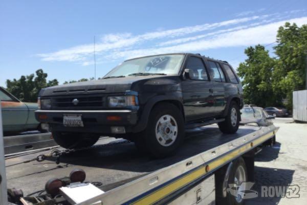 Row52 1990 Nissan Pathfinder At Pick N Pull San Jose North