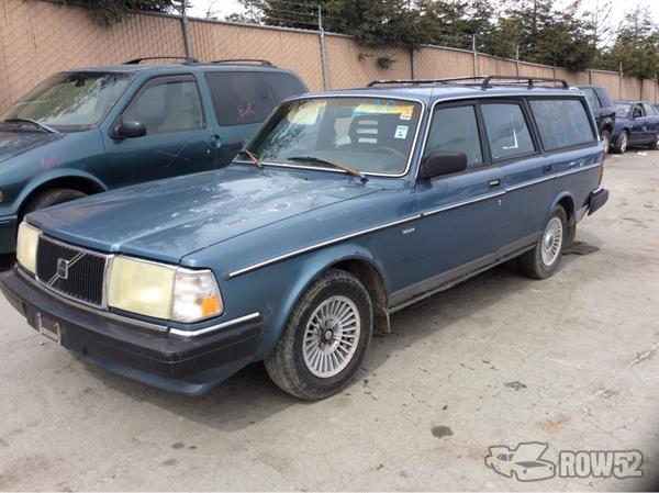Row52 1986 Volvo 240 Wagon At Pick N Pull Moss Landing