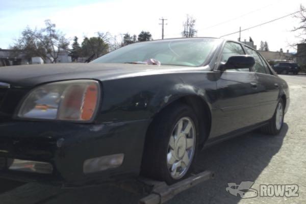 Row52 2000 Cadillac Deville At Pick N Pull San Jose North
