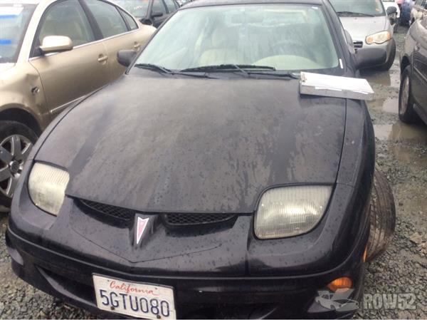 Row52 2000 Pontiac Sunfire At Pick N Pull Stockton 1g2jb1249y7454243