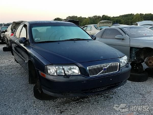 Row52 2001 Volvo S80 At Buddys Upull Yv1ts90d211160790