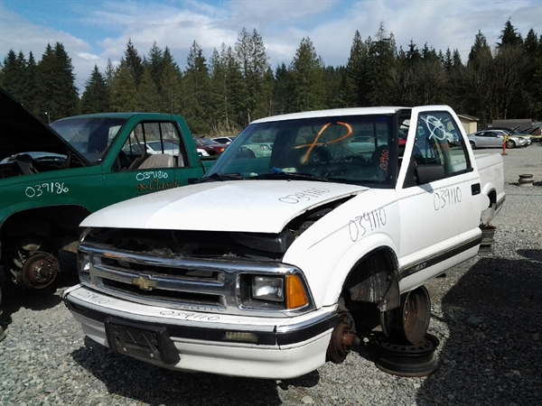 Row52 1994 Chevrolet S10 Pickup At 360 Auto Recycling