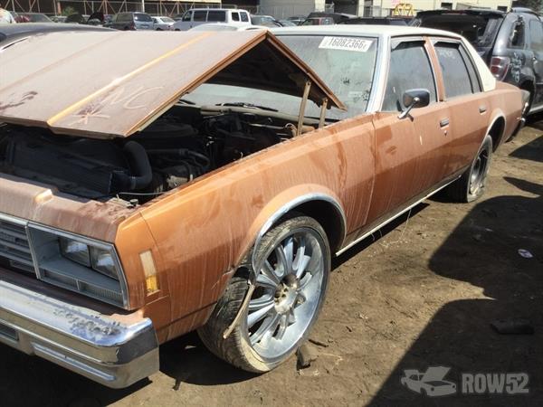 Row52 1978 Chevrolet Impala At Pick N Pull Kansas City