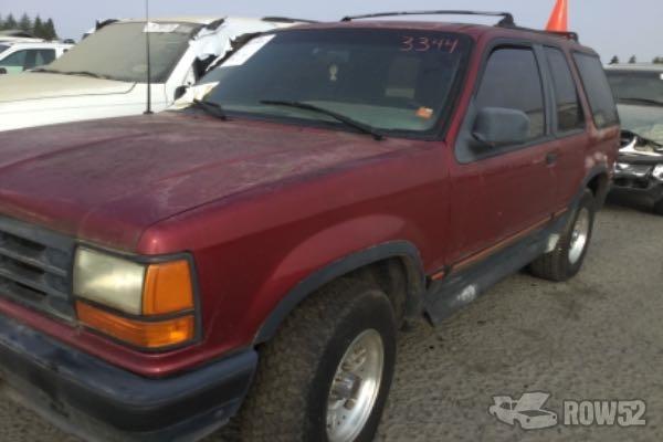 Row52 1993 Ford Explorer At Pick N Pull Rancho Cordova