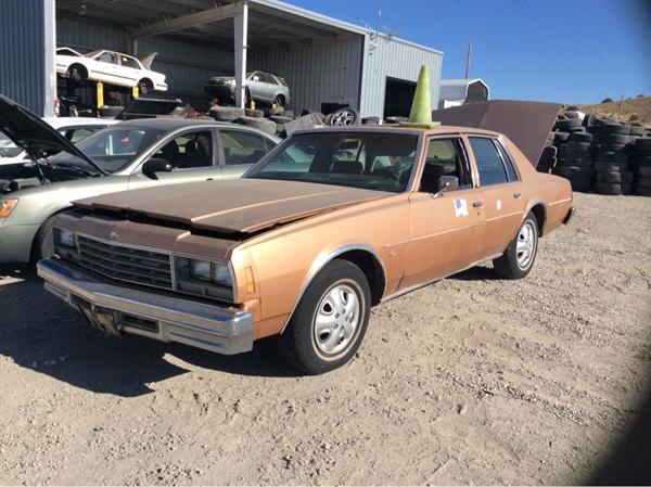 Row52 1978 Chevrolet Impala At Pick N Pull Carson City